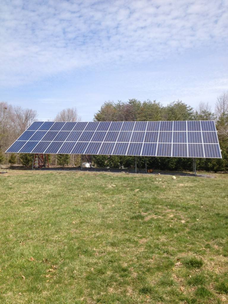 Ancarrow Solar Array Complete Old Dominion Innovations Inc