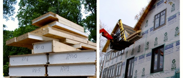Virginia Structural Insulated Panels installation