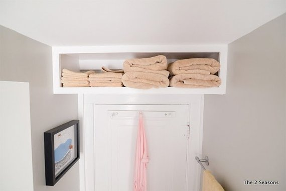 Link roundup storage ideas old dominion innovations inc for Bathroom design 3x2